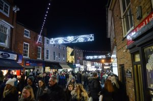 Lutterworth Christmas Lights Switch On 2017