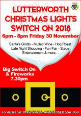 Lutterworth Christmas Lights Switch On 2018